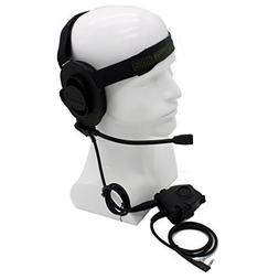 HD01 Z Tactical Bowman Elite II Headset with Peltor Style PT