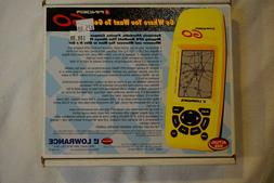 LOWRANCE iFINDER GO, HANDHELD 16-CHANNEL GPS UNIT Waterproof