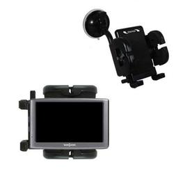 Windshield Mount compatible with Insignia NS-NAV01 GPS for t