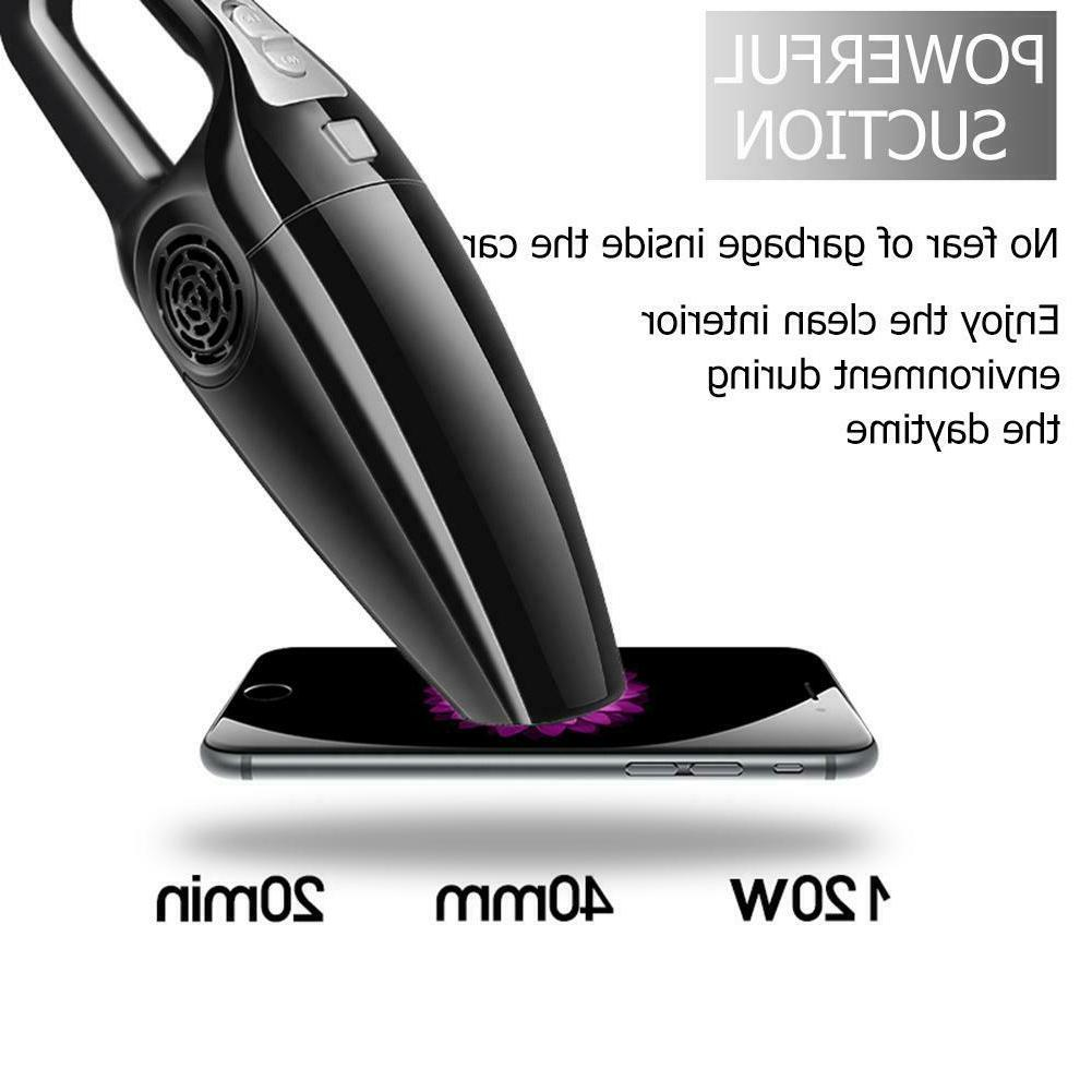 120W Car Cleaner 3600mbar Use Auto Portable