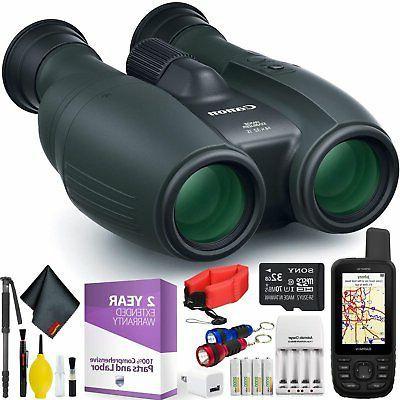 14x32 is image stabilized binocular handheld gps
