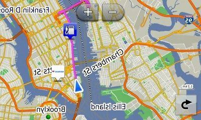 2019 North America City Maps SD for GPS Navigator