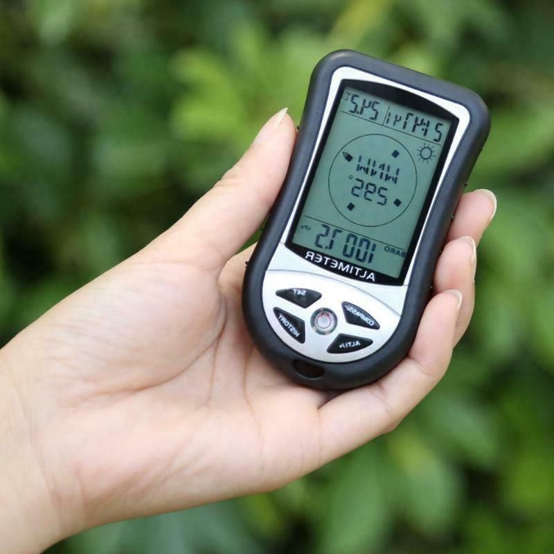 8 1 Electronic Navigation Compass Altitude Thermometer
