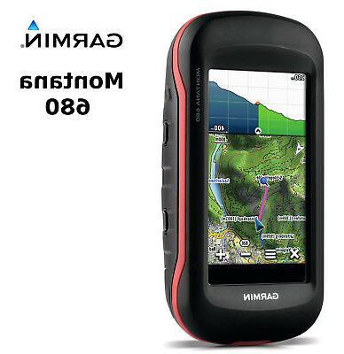 "Garmin - Montana 680 4"" Handheld Gps With Built-in Camera -"