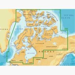 Magellan MapSend BlueNav XL3 Charts for eXplorist Northern C