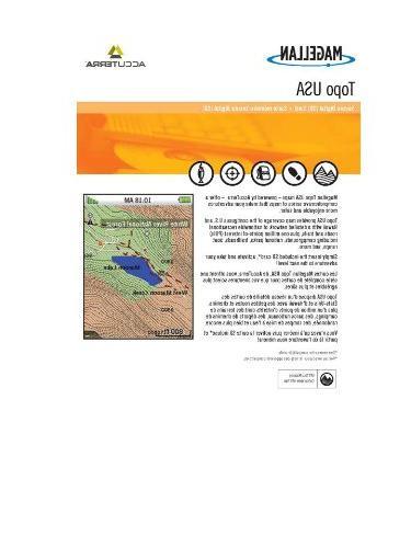 Magellan Topo USA Topographical Map Update for Magellan Trit