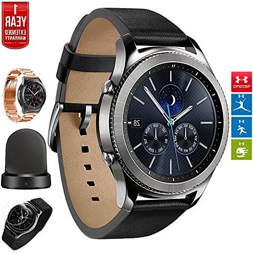 Samsung Gear S3 Bluetooth Watch with Built-in GPS with Wirel