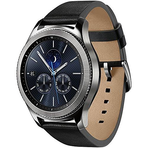 Samsung Bluetooth Watch with GPS Silver Wireless Charger Year Extended Warranty