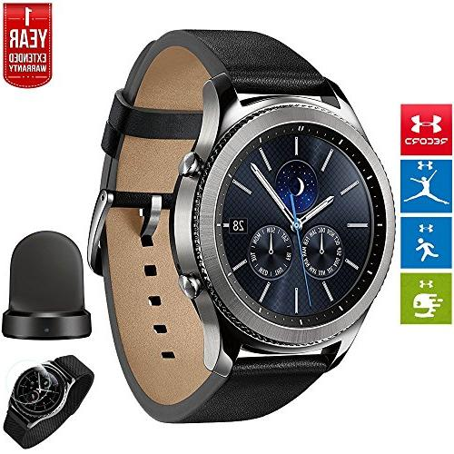 Samsung Gear S3 Classic Bluetooth Watch with Built-in GPS Si