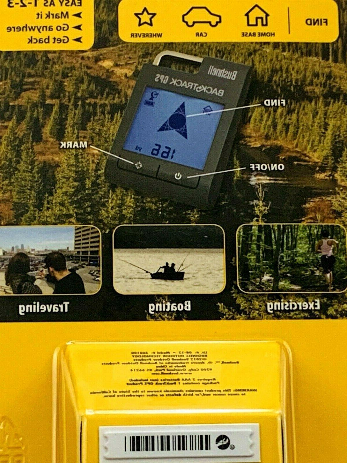 Bushnell BackTrack GPS Digital