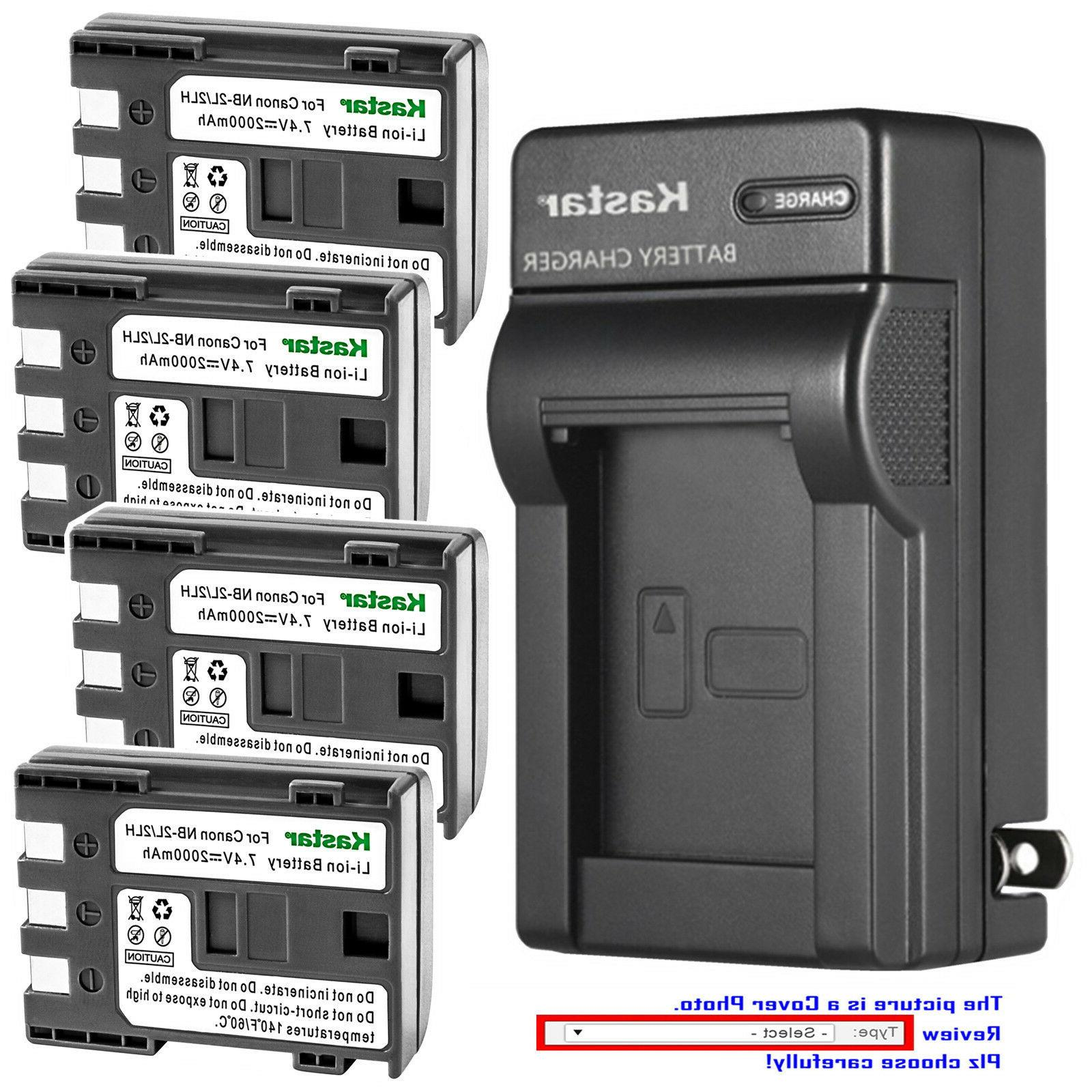 battery wall charger for canon nb 2l