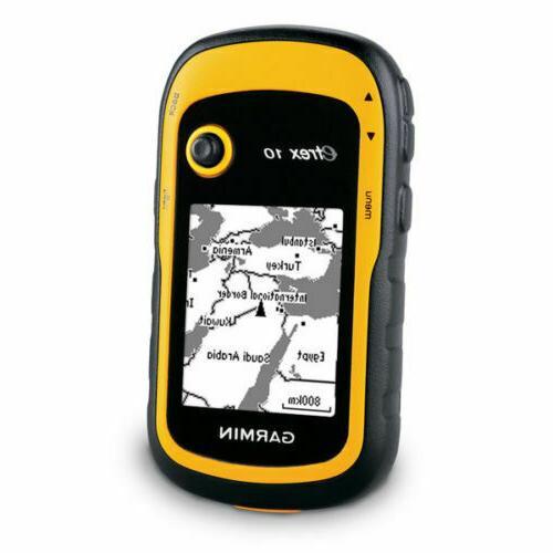 brand new etrex 10 handheld gps receiver