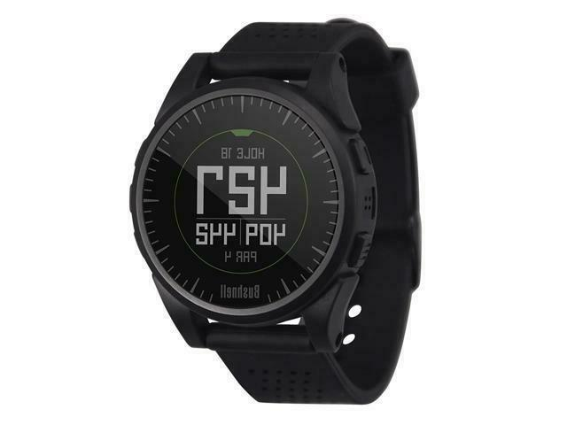 New Golf Excel GPS Watch Black White Silver