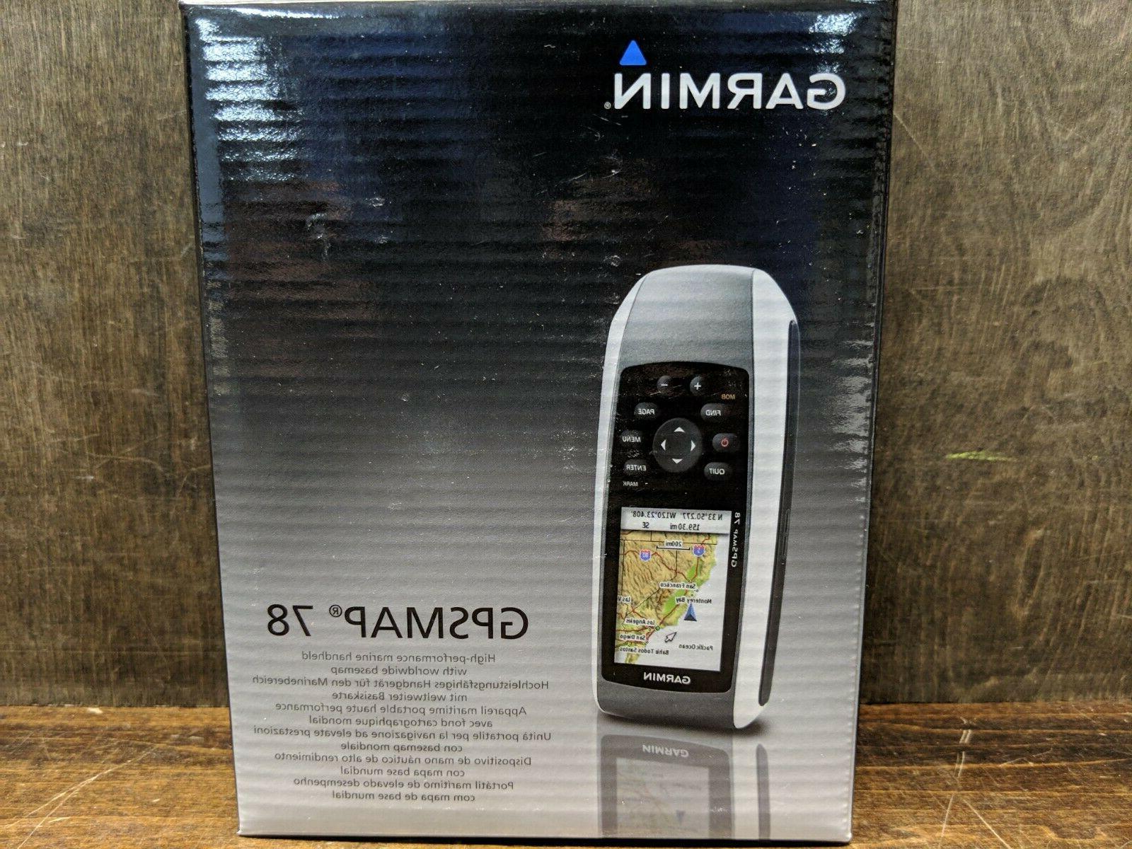 brand new gpsmap 78 marine handheld gps