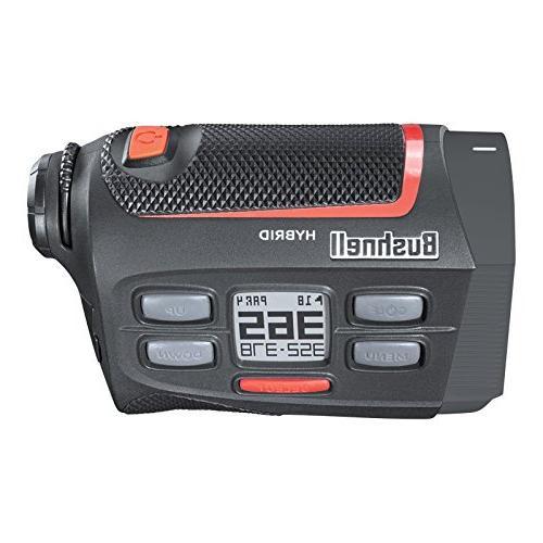 Bushnell 2018 Hybrid Laser/GPS Rangefinder Pinseeker Yards, 5X 201835