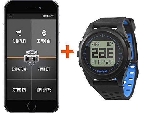 Bushnell 2 Golf GPS Watch Gift Box Bundle Wall/Car USB Adapters & Protective Case | Gift Box, Red | Golf GPS Watch |