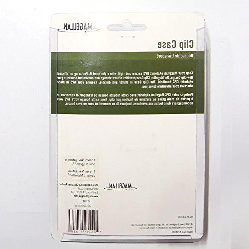 Magellan Clip Carrying Case For Vista/eTrex Vista Cx/eTrex HCx GPS Handheld Bonus Free -