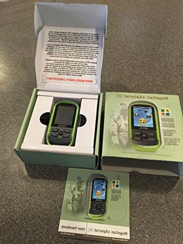 Magellan Handheld Device Geocaching