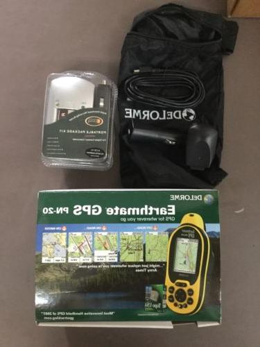 earthmate handheld gps pn 20 nib purchased