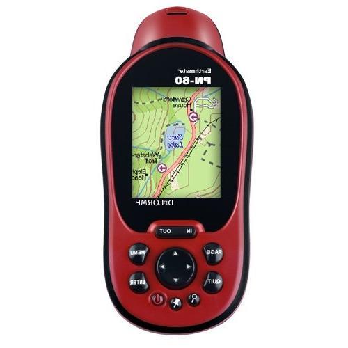 earthmate pn 60 portable gps