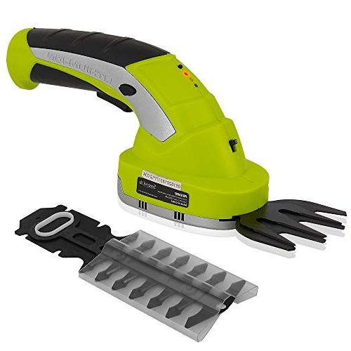 electric cordless handheld garden shears