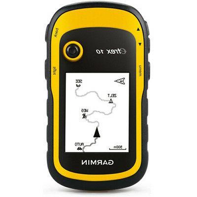etrex 10 worldwide handheld gps receiver 010