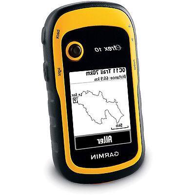 Garmin 10 Worldwide Handheld GPS Navigator 010-00970-00