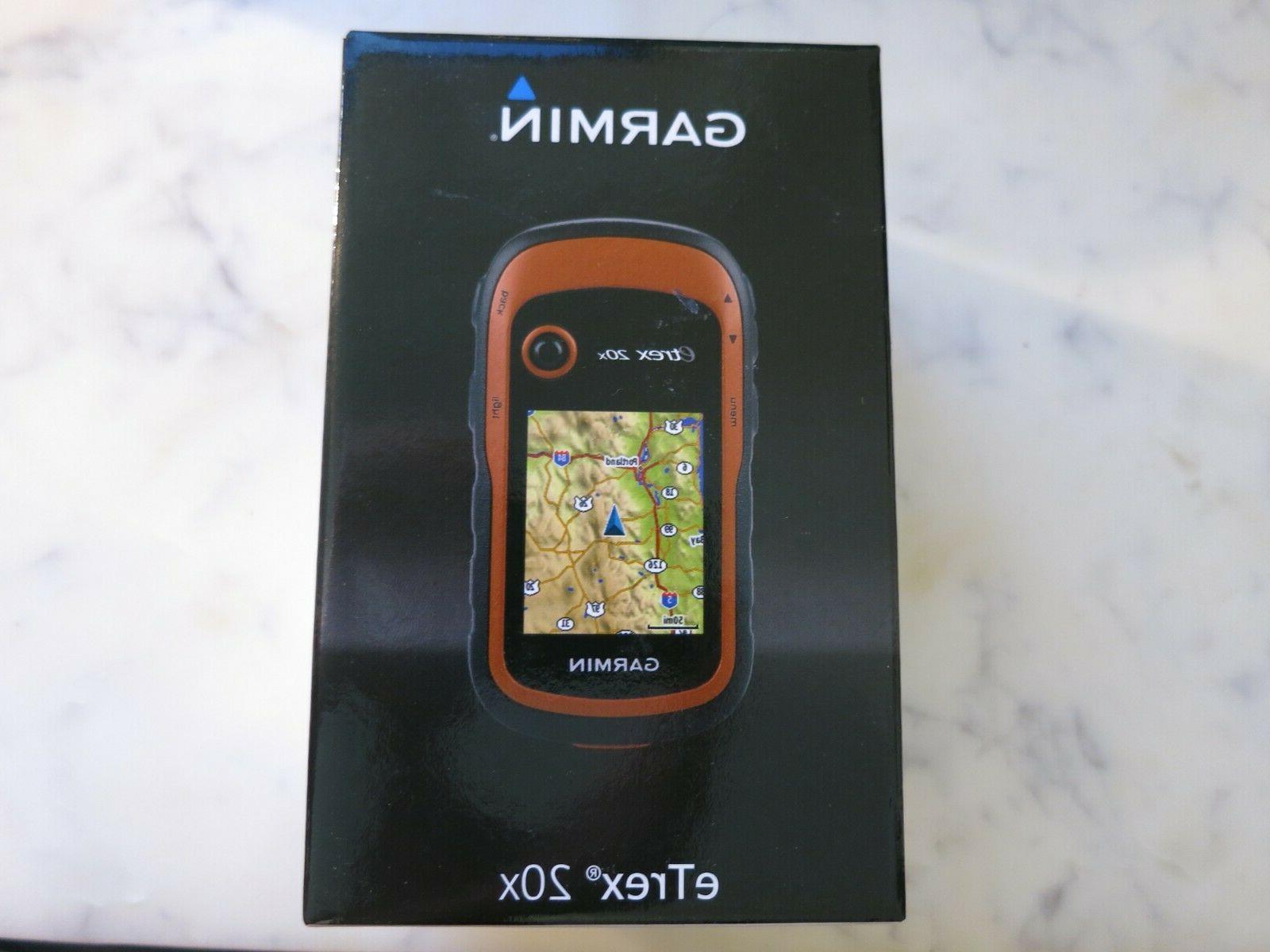 etrex 20x handheld gps 2 2 display