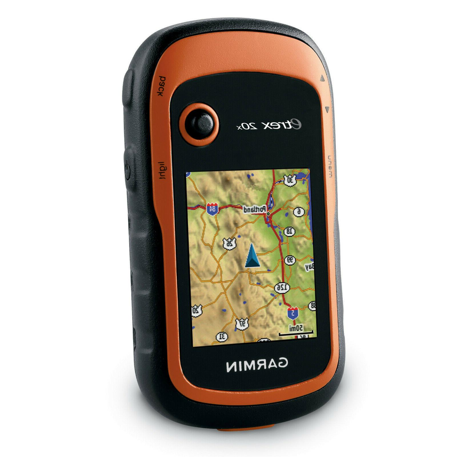 etrex 20x handheld gps w enhanced memory