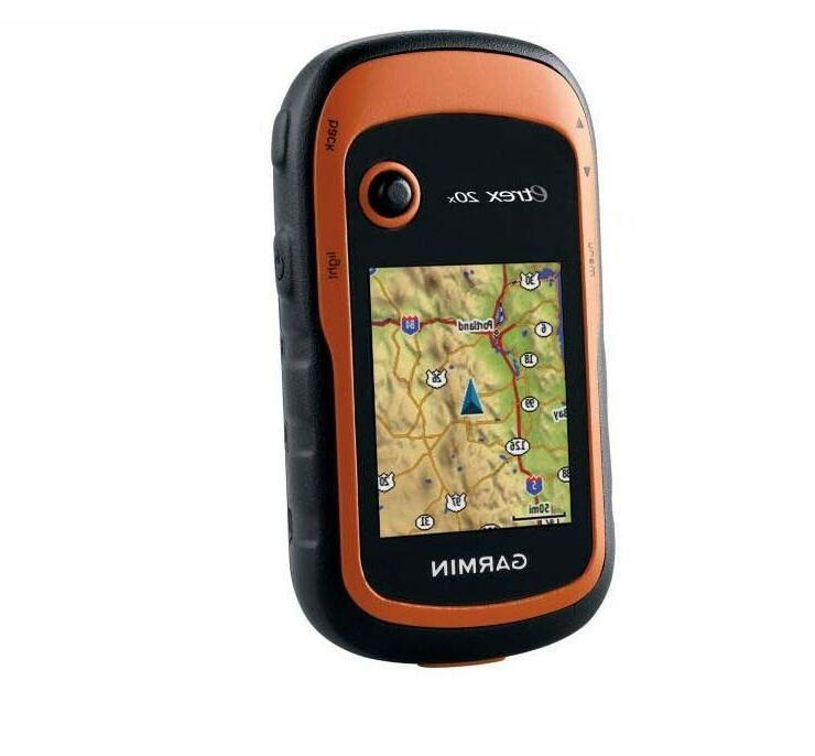 etrex 20x handheld gps w glonass ipx7