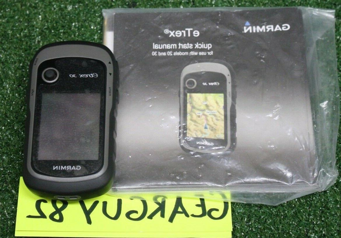 etrex 30 handheld gps u49