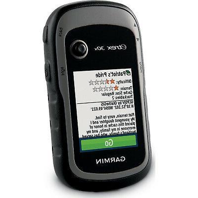 Garmin eTrex 30x GPS Handheld Navigator 3-axis Compass