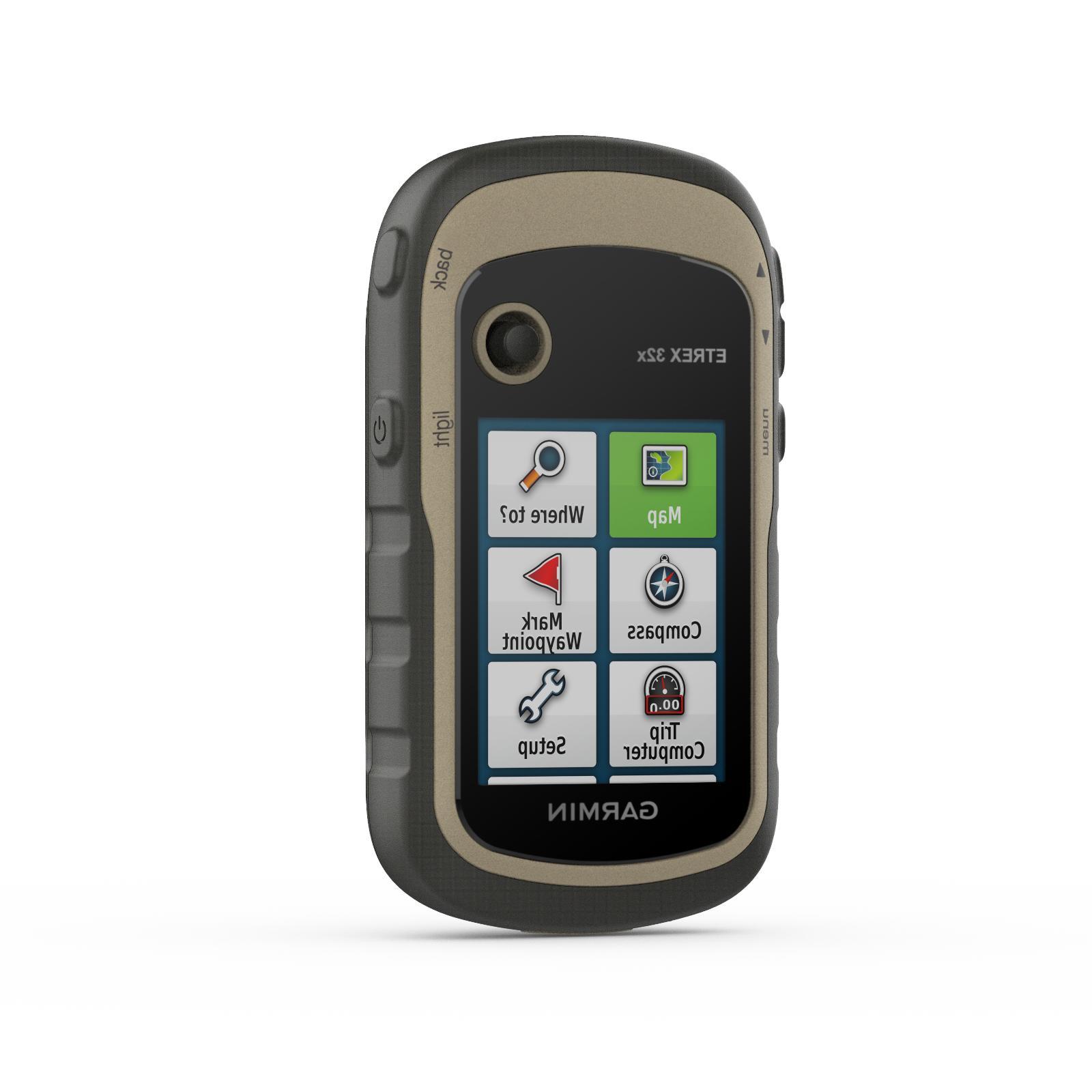 etrex 32x rugged handheld gps w compass