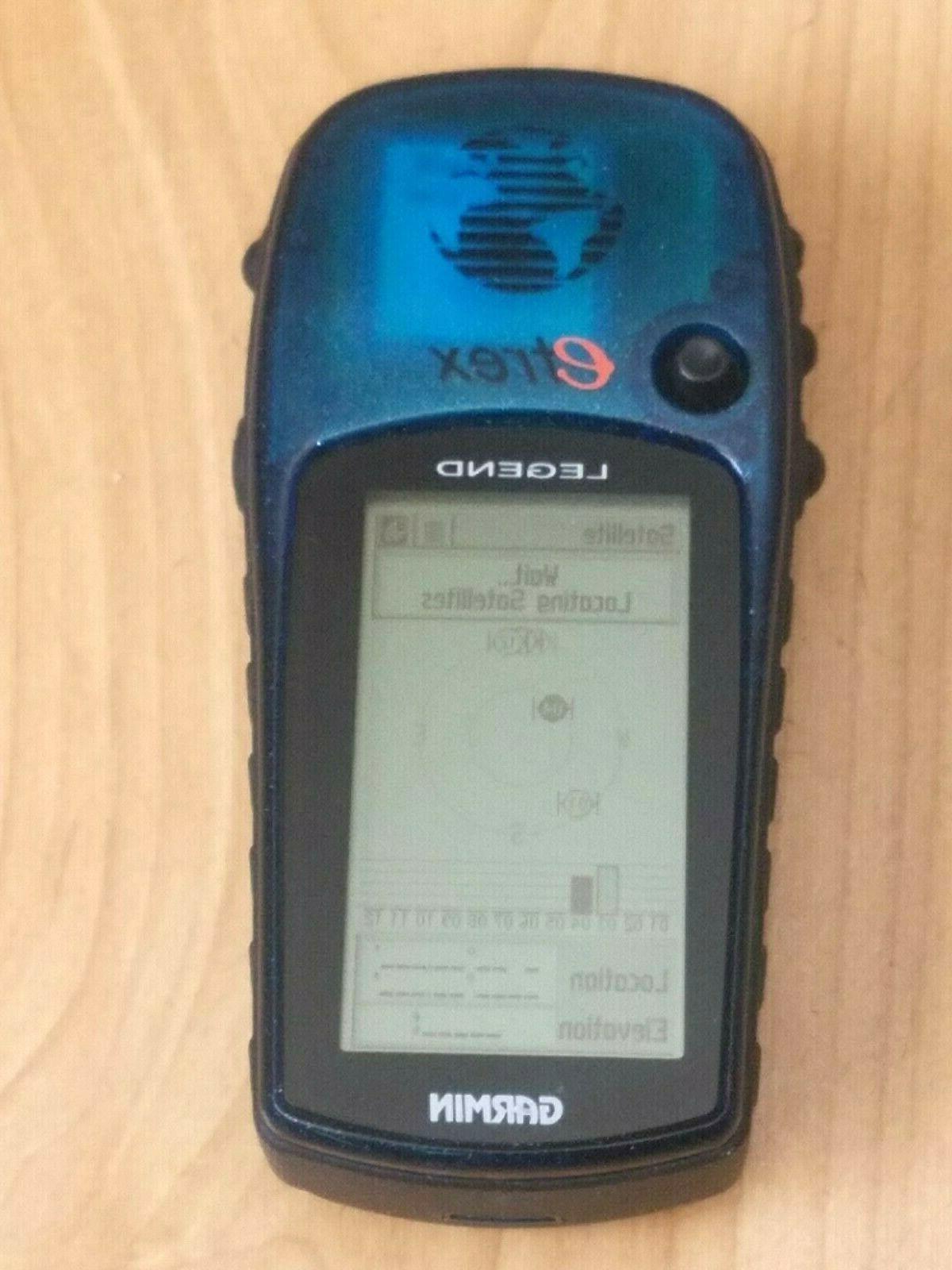 Garmin Legend Handheld Personal GPS Fishing