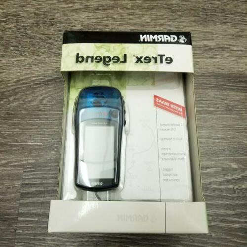 etrex legend portable handheld gps 12 channel
