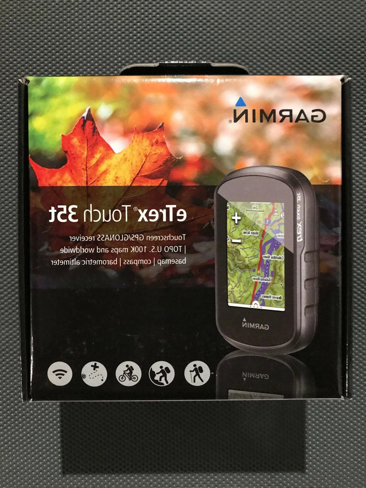 etrex touch 35t handheld gps