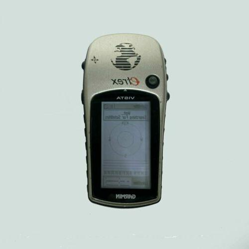 etrex vista handheld waterproof gps receiver
