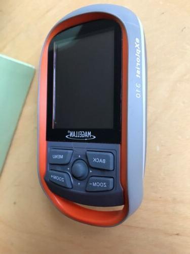 MAGELLAN eXplorist 310 Handheld *WORLD Waterproof Hiking GPS