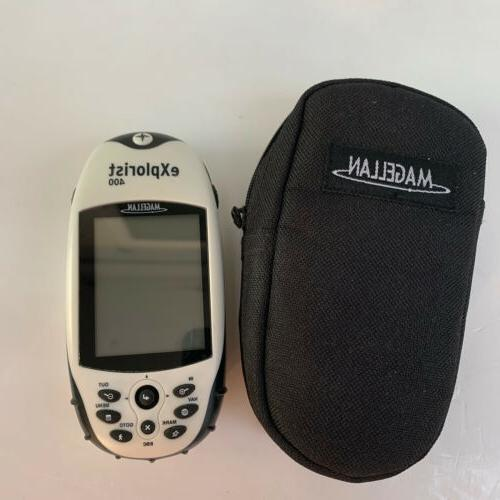 Magellan GPS W/ NO CHARGER White