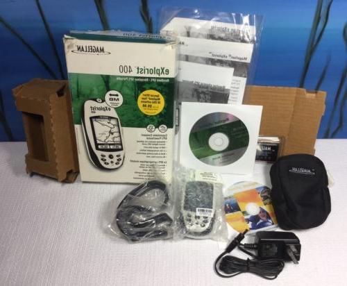 explorist 400 water resistant handheld hiking gps