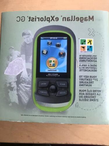 "MAGELLAN eXplorist GC Waterproof Handheld GEOCACHING 2.2"" LC"