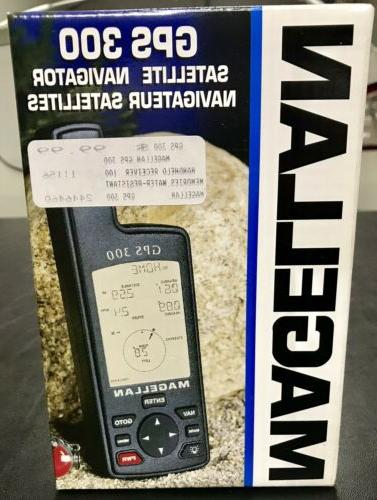 factory sealed gps 300 satellite navigator handheld