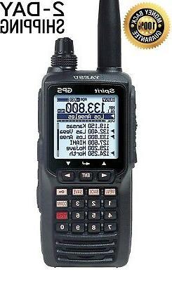 Yaesu FTA750L Handheld VHF Transceiver GPS Ham Radio Transce