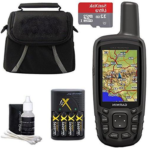 garmin gpsmap 64sc handheld gps