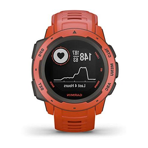 Garmin Instinct Watch Bundle with PlayBetter & Retractable Towel   Watch  