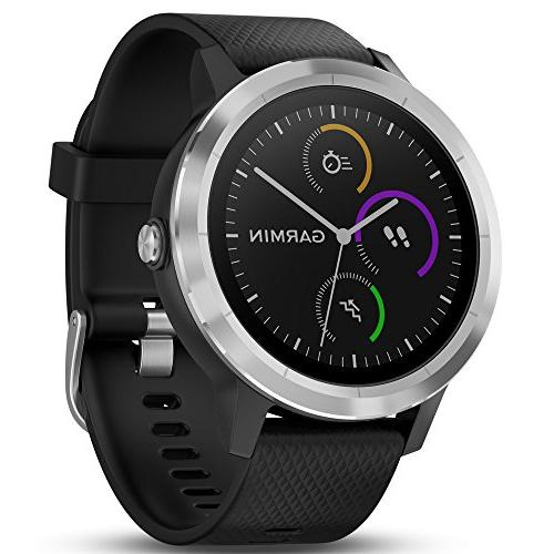 Garmin 010-01769-01 3 GPS Fitness Smartwatch 1 Year