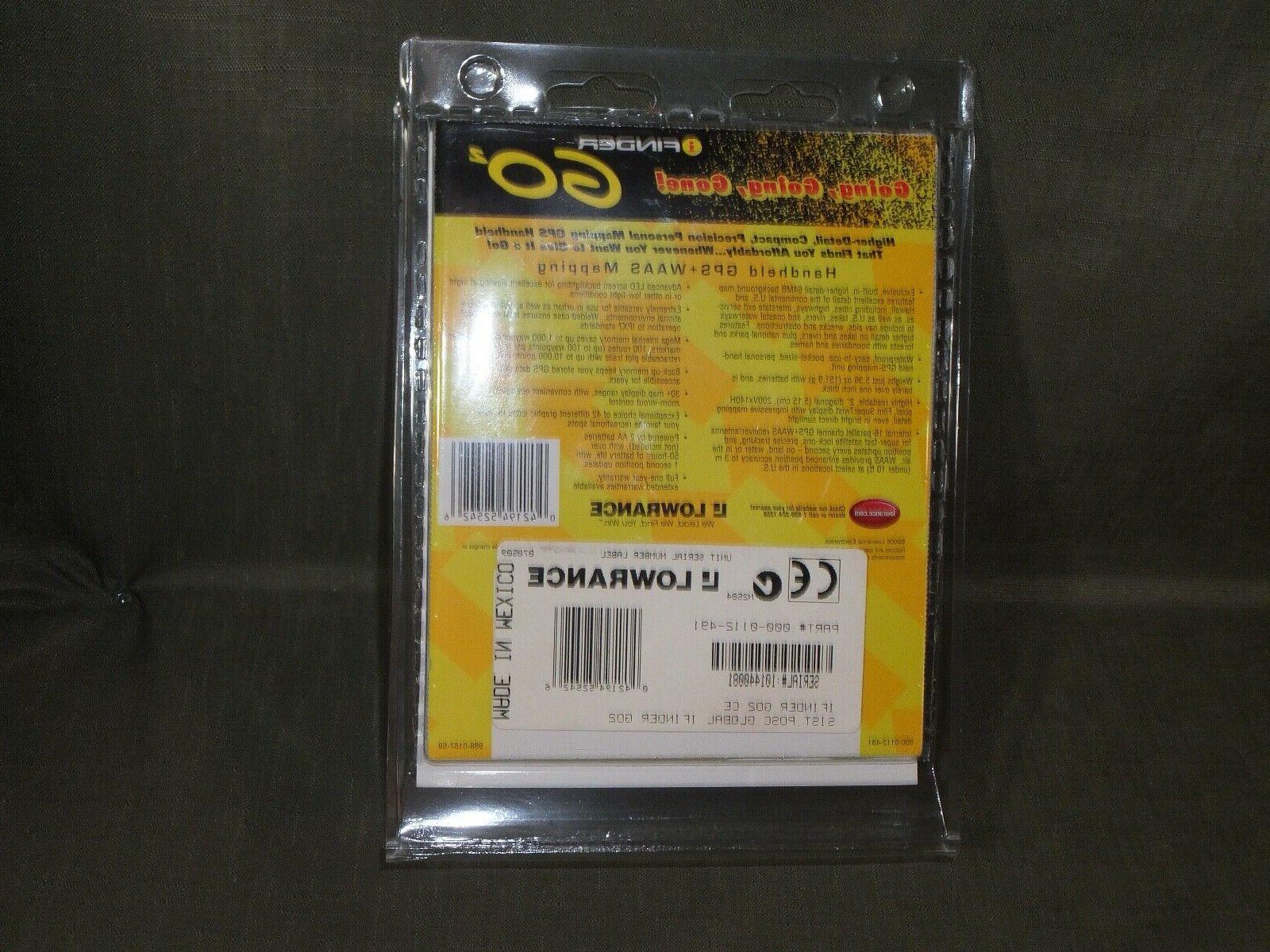 Lowrance Go2 I-Finder Handheld GPS tracker unit geocaching