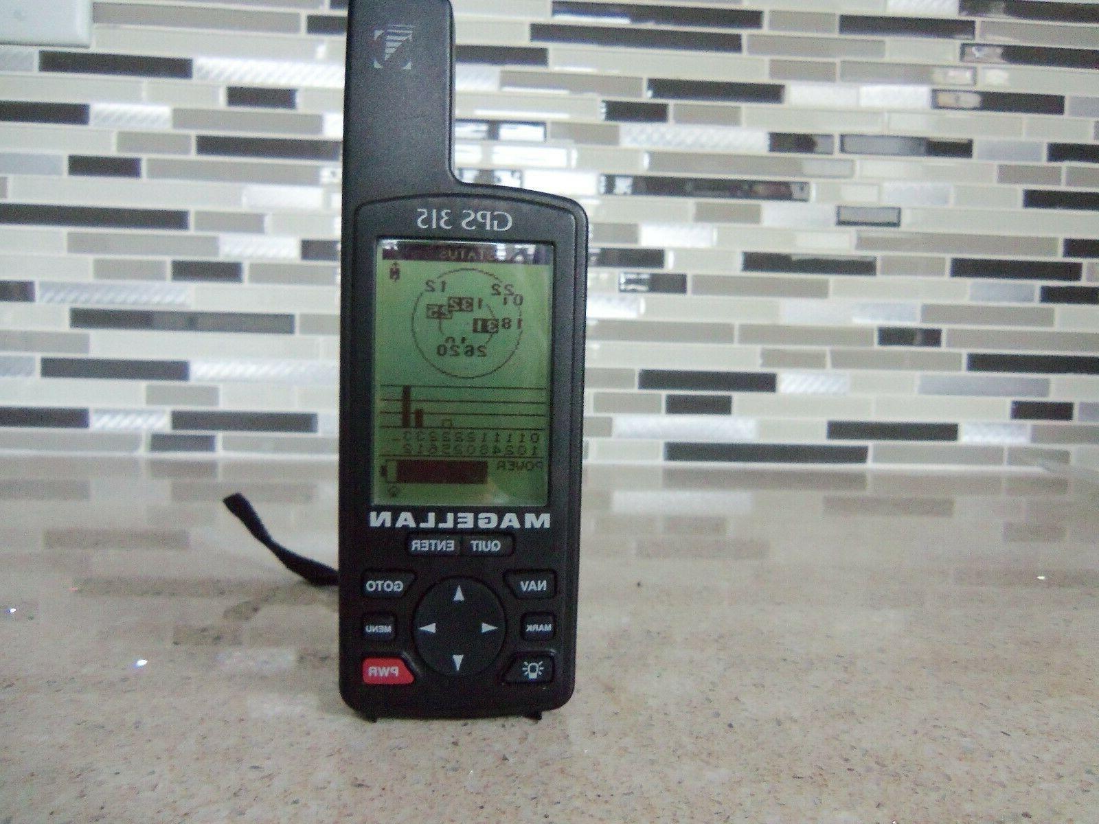 gps 315 handheld receiver marine outdoor hiking