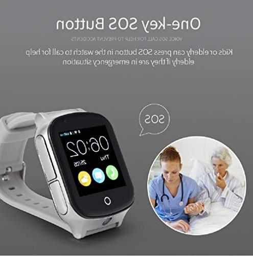 3G GPS Smart Phone KKBear Touch Screen Camera Step Counter SOS Monitor Anti-Lost with Tracker