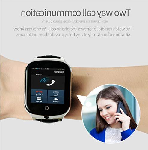 3G Smart Phone Kids KKBear Touch Screen Camera Counter Alarm Monitor Anti-Lost Care with